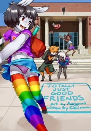 วัยว้าวุ่น รุ่นอยากลอง – [Aogami] Totally just good friends